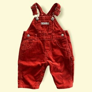 Baby Gap vintage cord overalls size 00